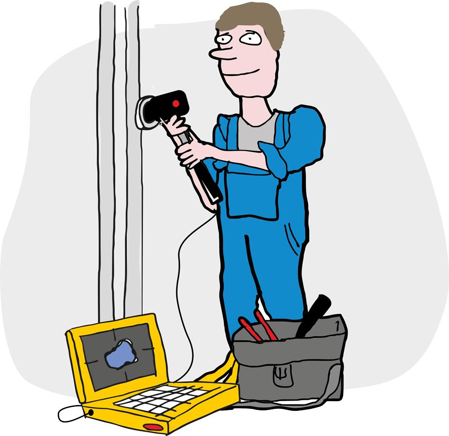 Revize kanalizace a potrubí kamerou